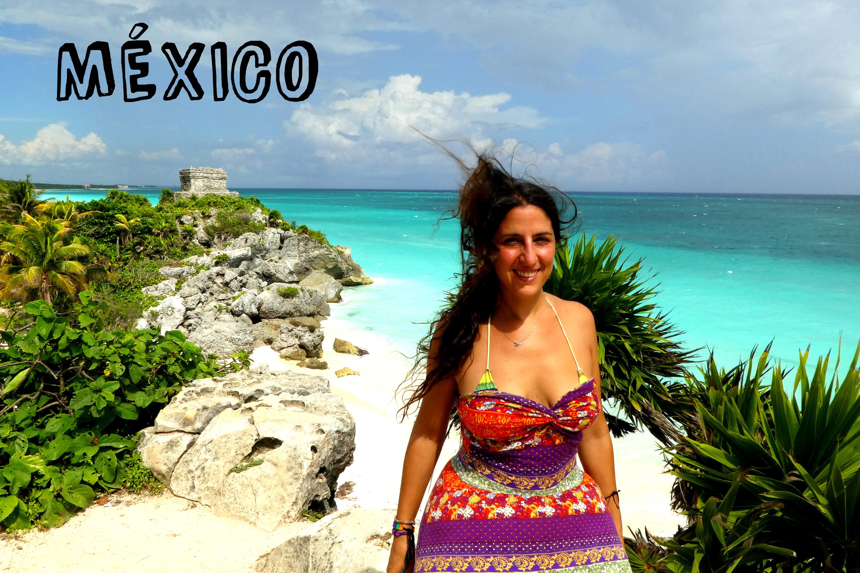 playas caribe ruinas mayas